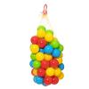 Dohány Toys Színes műanyag labda hálóban (60 db)