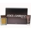 Dolce & Gabbana (D&G) The One férfi parfüm Set (Ajándék szett) (eau de toilette) edt 100ml + Borotválkozás utáni balzsam 75ml