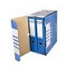 DONAU Archiváló doboz, A4, 155 mm, karton, DONAU, kék