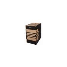 DONAU Archiváló doboz, A4, 200 mm, karton, DONAU, natúr irattartó