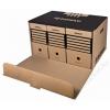 DONAU Archiváló konténer, előre nyíló, DONAU, barna (D76673N)