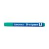 "DONAU ""D-signer U"" 2-4 mm kúpos zöld alkoholos marker"