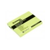 DONAU ECO Öntapadó jegyzettömb pasztell sárga 101x76 mm, 100 lap