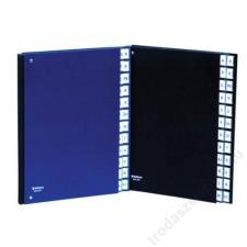 DONAU Előrendező, A4, 1-31, karton, DONAU, fekete (D8696FK) aláírókönyv