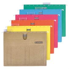 DONAU Függőmappa, gyorsfűzős, karton, A4, DONAU, piros mappa
