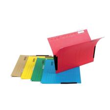DONAU Függőmappa, oldalvédelemmel, karton, A4, DONAU, zöld mappa