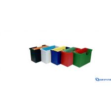DONAU Függőmappa-tároló fekete 5 db függőmappával irattároló szekrény