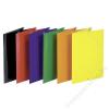 DONAU Gumis mappa, karton, A4, DONAU Standard, citromsárga (DFEP111G)