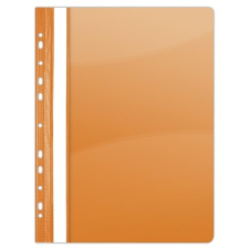 DONAU Gyorsfűző, lefűzhető, PVC, A4, DONAU, narancssárga mappa