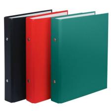 DONAU Gyűrűs könyv, 2 gyűrű, 30 mm, A5, PP/karton, , piros gyűrűskönyv