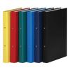 DONAU Gyűrűs könyv, 2 gyűrű, 35 mm, A4, PP/karton, , piros