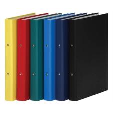 DONAU Gyűrűs könyv, 2 gyűrű, 35 mm, A4, PP/karton, , piros gyűrűskönyv
