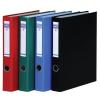 DONAU Gyűrűs könyv, 2 gyűrű, D alakú, 45 mm, A4, PP/karton, , piros