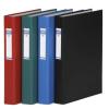 DONAU Gyűrűs könyv, 4 gyűrű, 40 mm, A4, PP/karton, , zöld