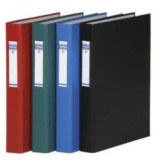 DONAU Gyűrűs könyv, 4 gyűrű, 40 mm, A4, PP/karton, , zöld gyűrűskönyv