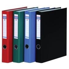 DONAU Gyűrűs könyv, 4 gyűrű, D alakú, 45 mm, A4, PP/karton, , kék gyűrűskönyv