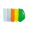 DONAU Iratpapucs, műanyag, 70 mm, DONAU, áttetsző fehér