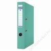 DONAU Iratrendező, 50 mm, A4, PP, élvédő sínnel, DONAU Premium, türkiz (D3955T)