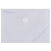 DONAU Irattartó tasak, A7, PP, patentos, DONAU, áttetsző (D8550A)