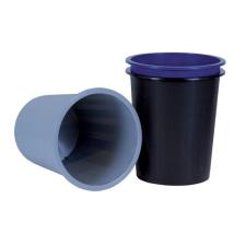 DONAU Papírkosár, 14 liter, DONAU, fekete irodai kellék