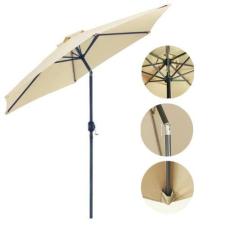 Dönthető, nagy méretű napernyő kerti bútor