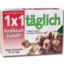 Doskar 1X1 Fokhagyma Kapszula, 30db táplálékkiegészítő
