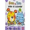 Dot and Dash Eat Their Dinner (Spanish) Das y Zas van a cenar
