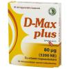 Dr.chen d-max plus d3-vitamin 3200ne speciális gyógyászati célra szánt tápszer kapszula 60db