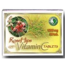 Dr. Chen Patika Natúr C-vitamin tabletta csipkebogyó-kivonattal 80db vitamin
