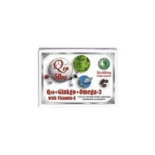 Dr.chen Q10 50 mg+Ginkgo+Omega-3 kapszula táplálékkiegészítő