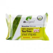 Dr.Organic bio teafa nedves törlőkendő kozmetikum