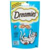 Dreamies kiegészítő állateledel felnőtt és junior macskák számára lazaccal 60 g