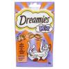 Dreamies Mix kiegészítő állateledel felnőtt és junior macskák számára csirkével és kacsával 60 g