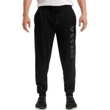Dressa Jogger pamut férfi melegítő nadrág - fekete férfi nadrág