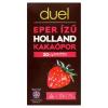 DUEL eper ízű holland kakaópor 75 g