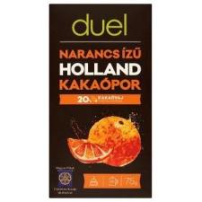 DUEL HOLLAND KAKAÓPOR NARANCS ÍZŰ 75 G, 75 G csokoládé és édesség