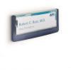 """DURABLE Információs tábla, 149x52,5 mm,  """"CLICK SIGN"""", kék"""