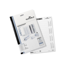 DURABLE Névkitűző betétlap 17x67 mm 600db/csom DURABLE névkitűző