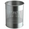 DURABLE Papírkosár, fém, 15 liter, , ezüst