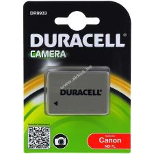 DURACELL akku Canon PowerShot G12 (Prémium termék) barkácsgép akkumulátor