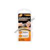 DURACELL hallókészülék elem PR754 6db/csom