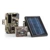 DURAMAXX Solar Grizzly, vadkamera, készlet, fekete LED diódák, HD, MP, napelem