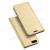 DUX DUCIS slim design notesz / mappa tok - ARANY - oldalra nyíló flip cover, asztali tartó funkció, szilikon belsõ, mágneses záródás - OnePlus 5 - GYÁRI