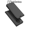 DUX DUCIS slim design notesz / mappa tok - SZÜRKE - oldalra nyíló flip cover, asztali tartó funkció, szilikon belsõ, mágneses záródás - Motorola Moto G6 (2018) - GYÁRI