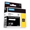 Dymo 1734523, 24mm x 5,5m, fekete nyomtatás / fehér alapon, eredeti szalag