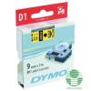 DYMO címke LM D1 alap  9mm   fekete betű / sárga alap (40918)