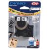 Dymo D1 16959, S0718060, 12mm x 5.5m, fekete nyomtatás / fehér alapon, eredeti szalag