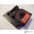 DYMO D1 45807 19mm * 7m piros alapon fekete utángyártott feliratozószalag kazetta