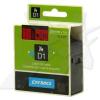 Dymo D1 53717, S0720970, 24mm x 7m fekete nyomtatás / piros alapon, eredeti szalag