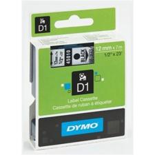 """DYMO Feliratozógép szalag, 9 mm x 7 m, DYMO """"D1"""", víztiszta-fekete nyomtató kellék"""